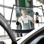 garage automobile pare-brise vitrage