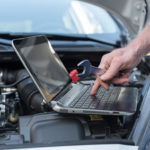 garage automobile diagnostic
